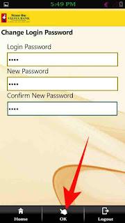 Mobile banking mpin or login password change kaise kare 7