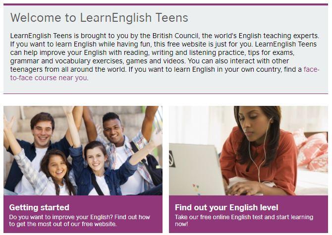 OnlineLernhilfen ] BBC: Learn English Teens | natürlich ⇔ englisch ...