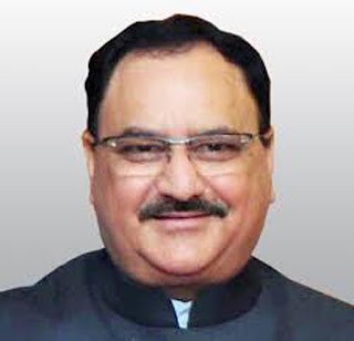 J.P. Nadda appointed as BJP's working President