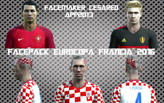New Facepack Euro 2016 - Pes 2013 By Cesareo