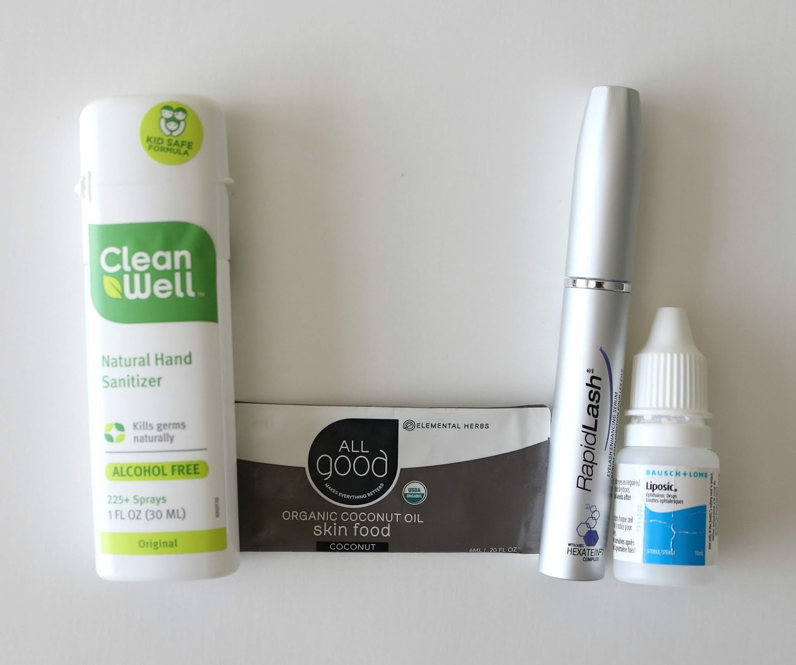 empties used up products