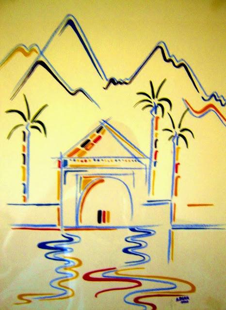 Menara Marrakesz. Obrazek w hotelu
