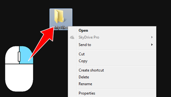 how to hide files