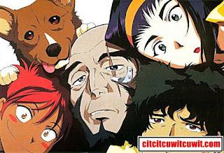 cowboy bebop anime terbaik sepanjang masa nomor 14