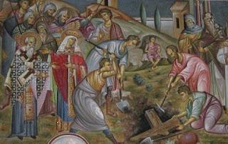 6 Μαρτίου Μνήμη Ευρέσεως Τιμίου Σταυρού μετά των Τιμίων Ήλων υπό της Αγίας Ελένης