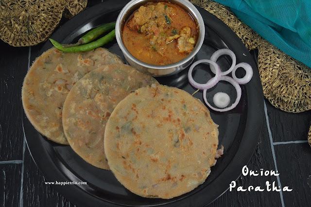 Onion Paratha Recipe | Pyaz ka Paratha | How to make Onion Paratha