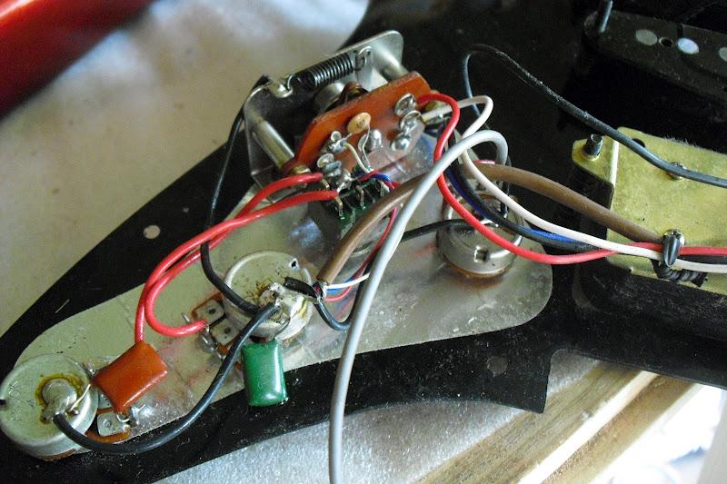 Reflex Reds Active Guitar Pickup Wiring Diagram