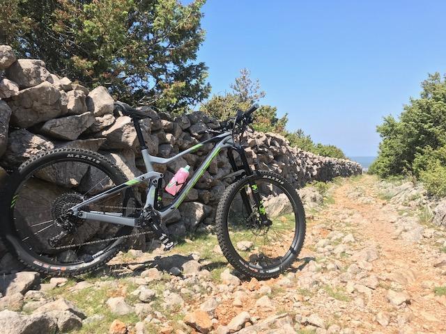 bike tour mtb krk obzova höchster berg
