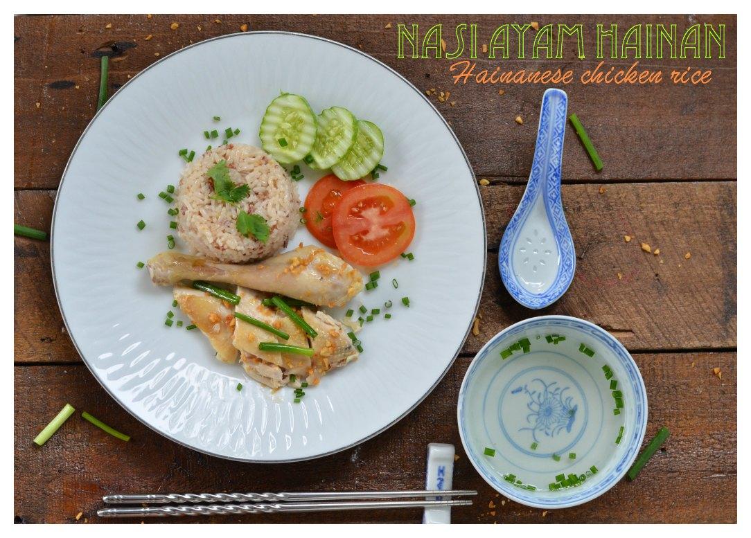 Indonesian Medan Food Nasi Ayam Hainan Mudah Dan Enak Easy