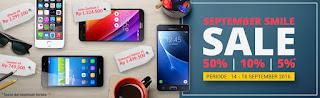 Erafone September Smile Smartphone Diskon 50%