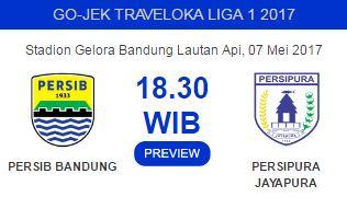 Persib Bandung vs Persipura Jayapura Tetap di Stadion GBLA
