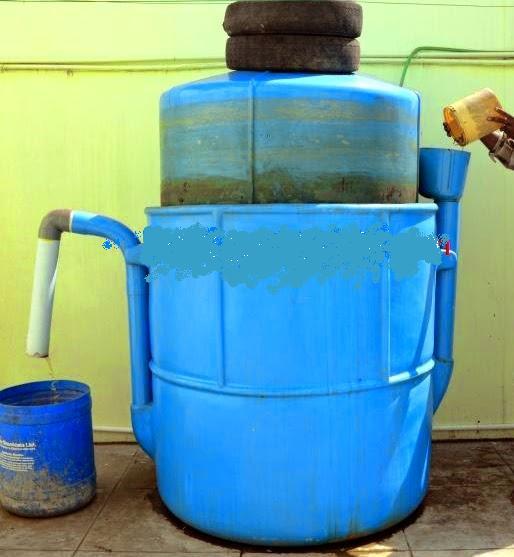 Hakli Kabupaten Pekalongan Membuat Biogas Sederhana Dari Kotoran