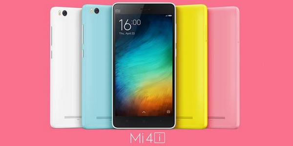 Xiaomi Mi 4i officially announced with an affordable price and in an array of colors