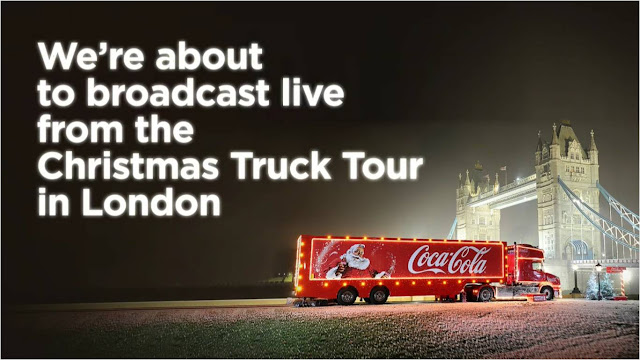 Coca-Cola Christmas Truck Tour Facebook Live