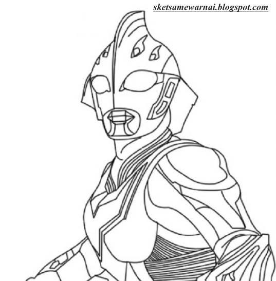 Mewarnai Ultraman Zero Beyond Download Gambar Mewarnai Gratis