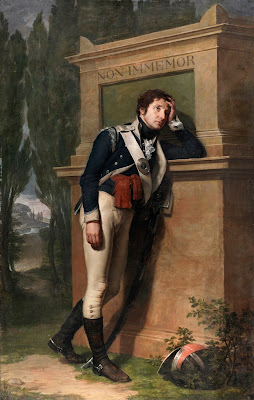 2. Painting of Richard St. George by Hugh Douglas Hamilton. Photo Copyright National Gallery of Ireland