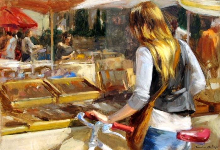 Современные художники Испании. Monica Castanys 7
