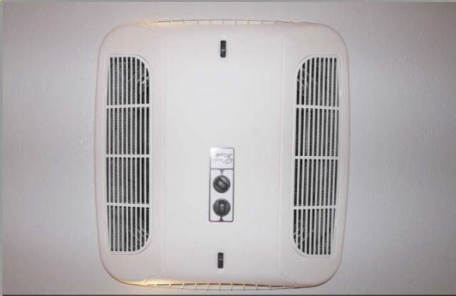 Central Air Conditioning in Trailer