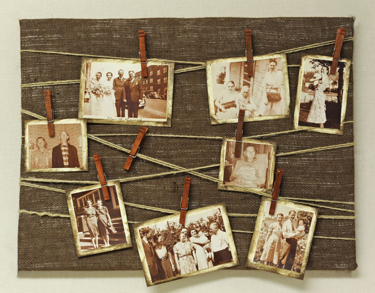 Craft Ideas For Canvas Boards
