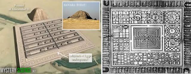 laberinto egipcio