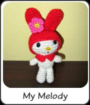 My Melody amigurumi