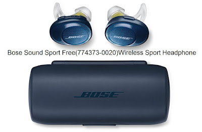 Bose Sound Sport Free (774373-0020) Truly Wireless Earbuds Sport Headphone with Mic