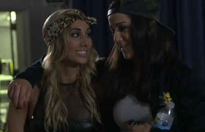 Bayley and Carmella from NXT