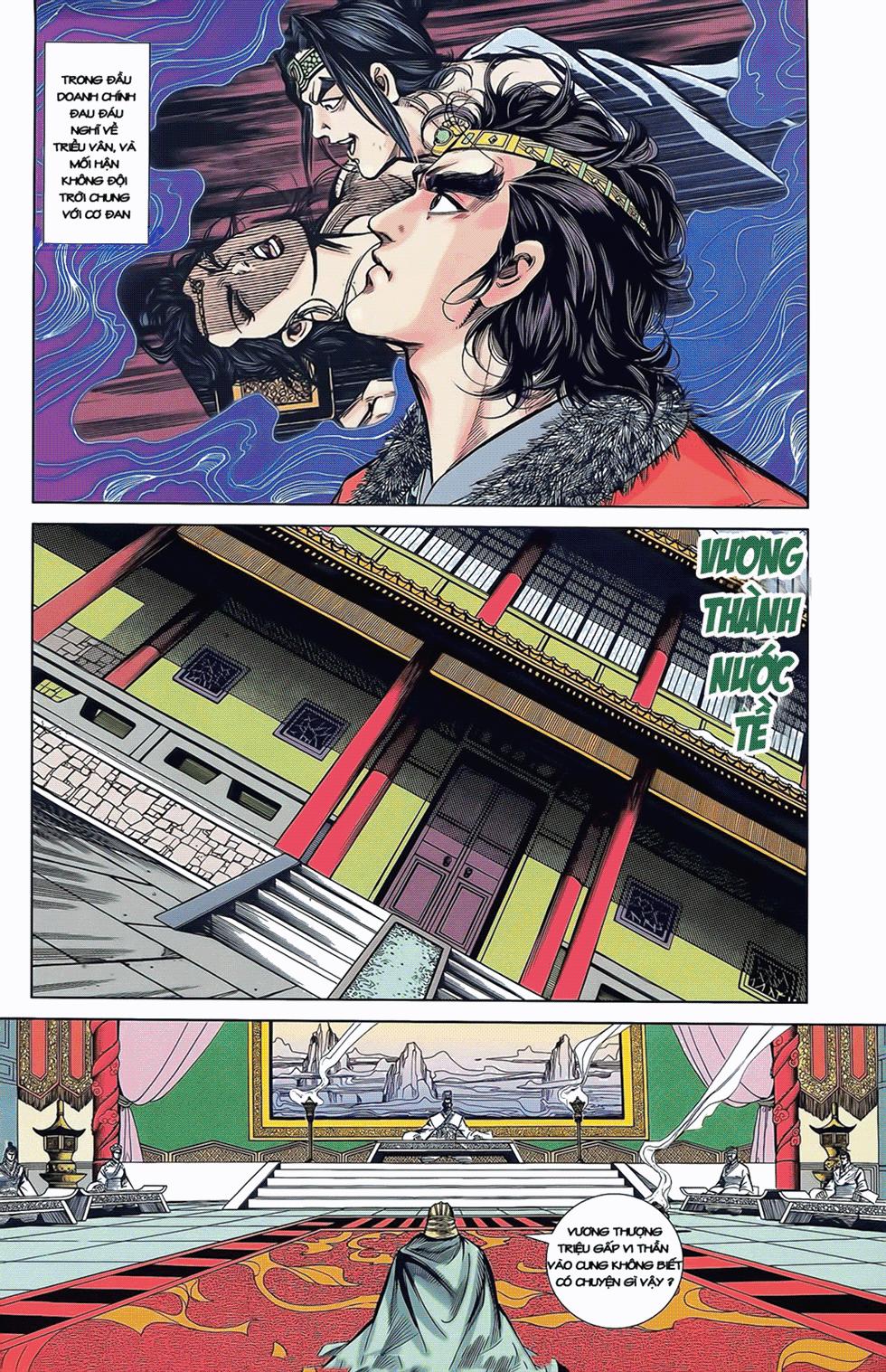 Tần Vương Doanh Chính chapter 8 trang 25
