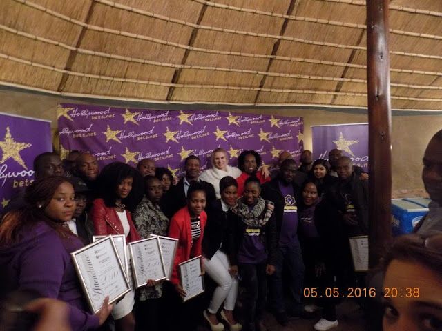 All the attendees who completed the course for the Limpopo Entrepreneurial Development Programme - Hollywoodbets