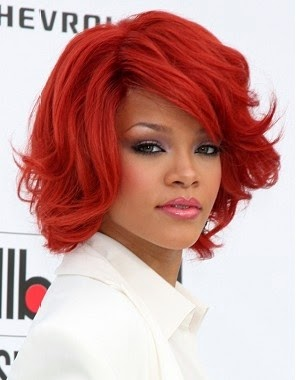Fabulous Medium Red Hairstyles For Girls Hairstyles Hair Cuts And Colors Short Hairstyles Gunalazisus