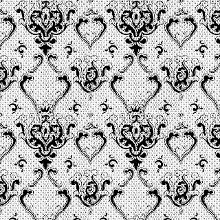 background damask crafting scrapbook digital download