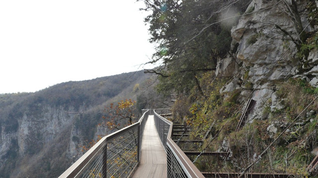 Okatse Canyon, Georgien