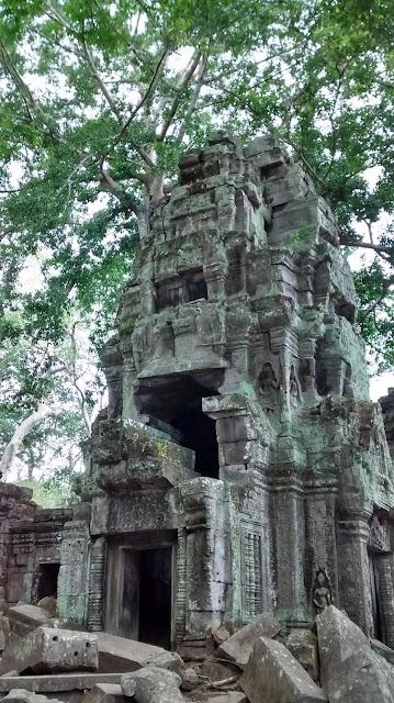 Ta Phrom Angor Temples