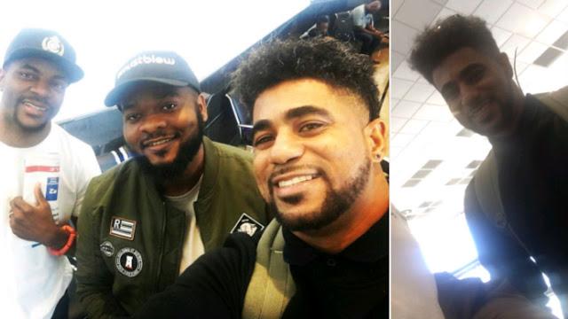 #BBNaija: ThinTallTony returns to Lagos (Photos)