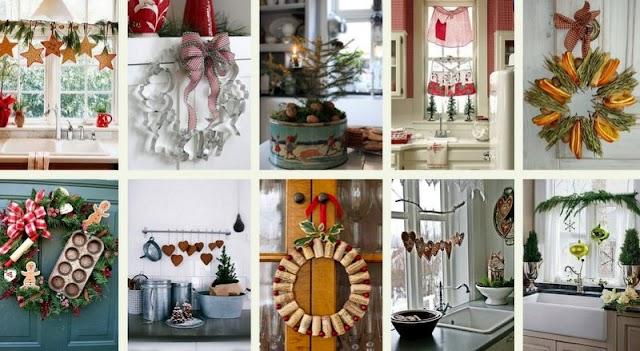 Χριστουγεννιάτικες ιδέες για την Κουζίνα