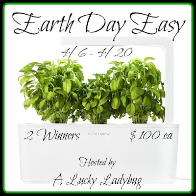 Enter the Earth Day Easy Giveaway. Ends 4/20