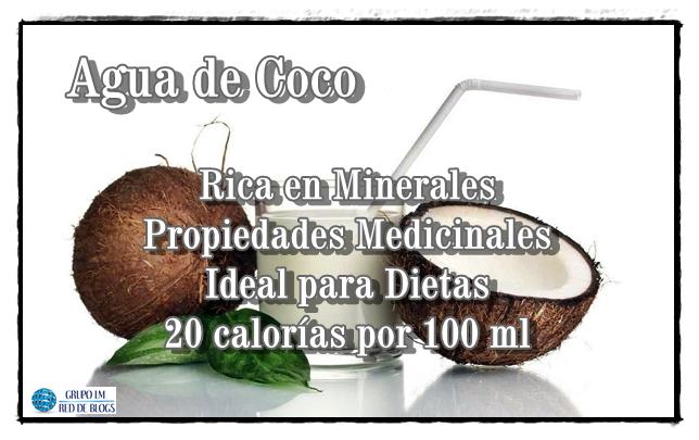 Propiedades del Agua de Coco