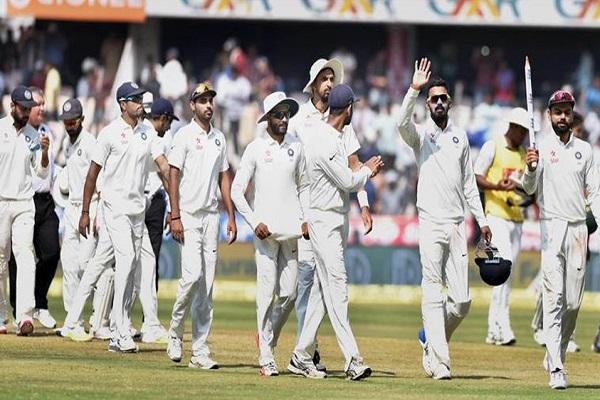 आस्ट्रेलिया को धूल चटा टीम इंडिया ने रचा इतिहास