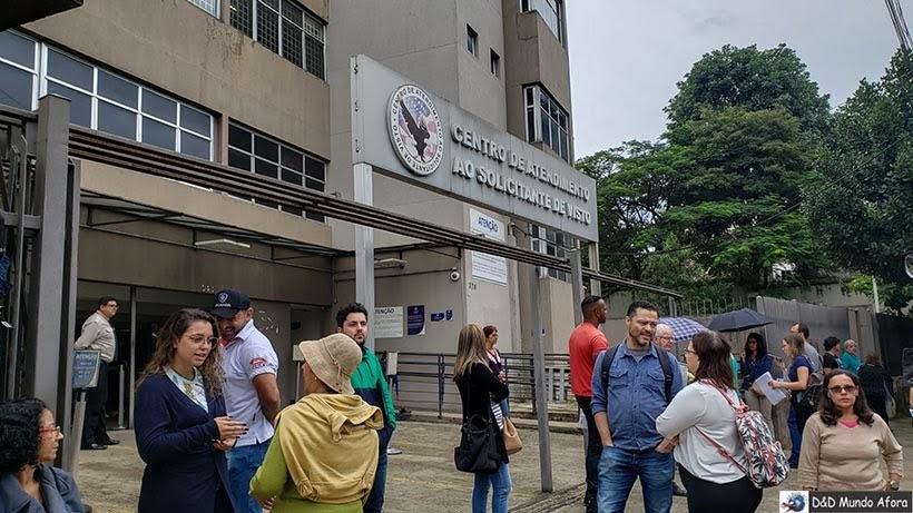 Casv em São Paulo - Visto americano negado