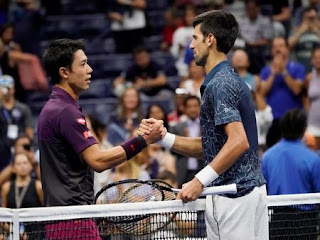 Djokovic eases past Nishikori to reach U.S. Open final
