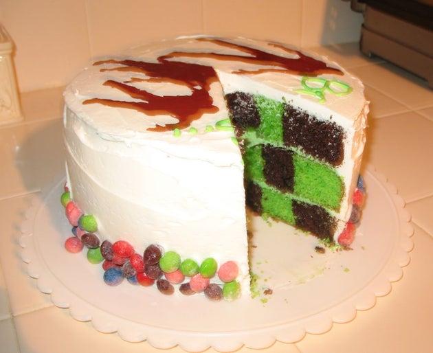 Você teria coragem de comer esse bolo?