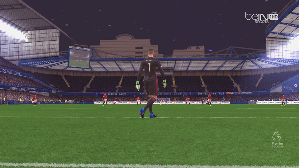 PES 2017 Update + Fix Stamford Bridge & Old Trafford by Ugly Thing