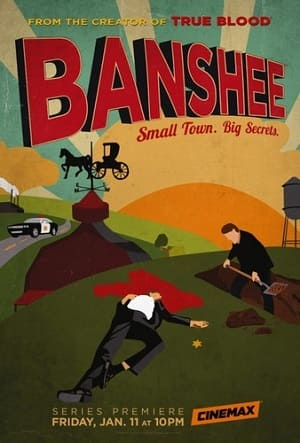 Banshee - 1ª Temporada Séries Torrent Download capa