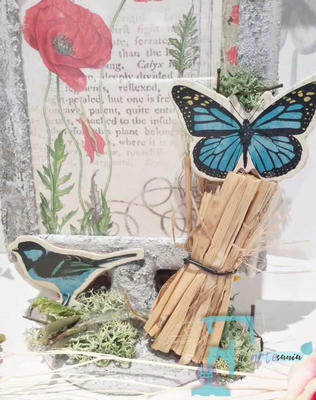 Detalle de la mariposa