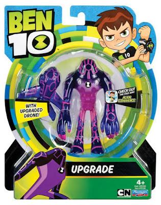 BEN 10 - Upgrade - Actualizador : Figura de acción   Muñeco   Serie Televisión Boing - Videojuego   COMPRAR JUGUETE - TOYS - JOGUINES caja