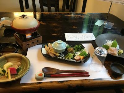 駒ヶ岳温泉の夕食