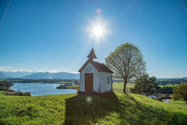 Meditationsweg Ammergauer Alpen im Blauen Land  Etappe 3 Murnau - Aidling 15