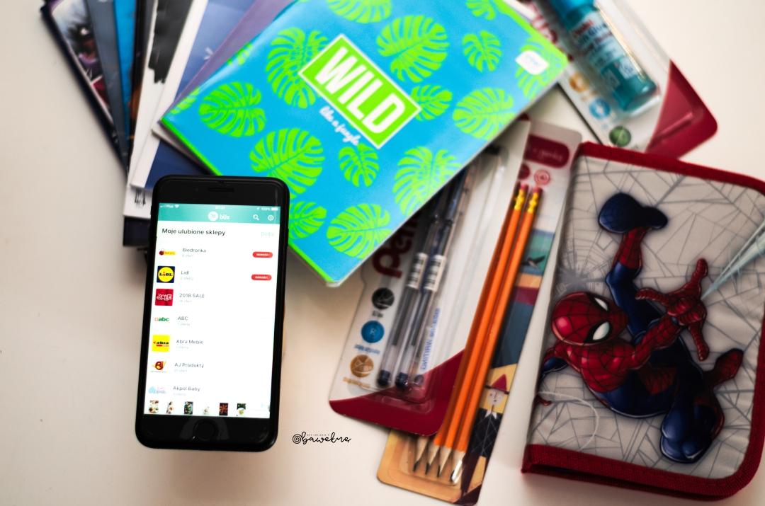 Lista zakupów do szkolnej wyprawki. Zainstaluj aplikacje Blix będzie łatwiej i przejrzyściej.