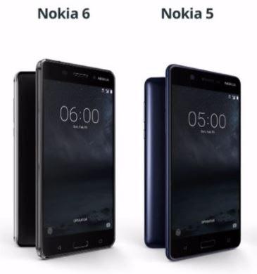 Nokia 5 Nokia 6