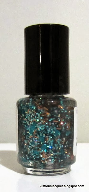 Glitterfied Nails Patina